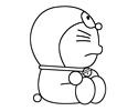 哆啦A梦机器猫简笔画图片