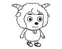 动画片喜羊羊简笔画图片