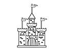 城堡简笔画图片