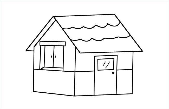 简单的小房子简笔画图片