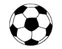 足球简笔画图片