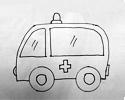救护车简笔画教程