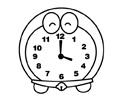 机器猫闹钟简笔画包含步骤图