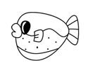 可爱的小河豚简笔画包含步骤图