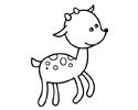 一只小鹿简笔画图片包含步骤图