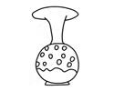 花瓶简笔画的画法步骤图片教程
