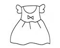简单几步出画出可爱的小裙子简笔画