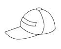 帽子简笔画步骤画法